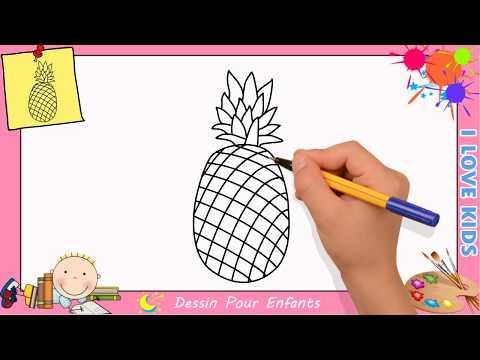 Dessin Ananas Facile Etape Par Etape Comment Dessiner Un