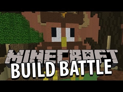 Minecraft | SÅ SNYGG UGGLA! | Team Build Battle Minigame på Svenska med figgwhipp