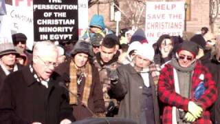 Coptic Christian Peace Procession Rally - Toronto, Ontario  CLIP 3  - MP Bob Dechert speaking