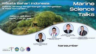 WISATA BAHARI INDONESIA: Potensi, Strategi Pengembangan, dan Pengelolaan di Masa Normal Baru