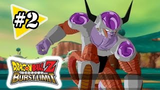 Dragon Ball Z: Burst Limit Gameplay Walkthrough Part 2 - Frieza Saga 1
