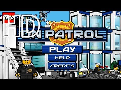 Lego On Patrol Full HD