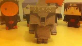 PaPeRtOy MaNiAc # 1 : Akatsuki (Naruto papercraft)