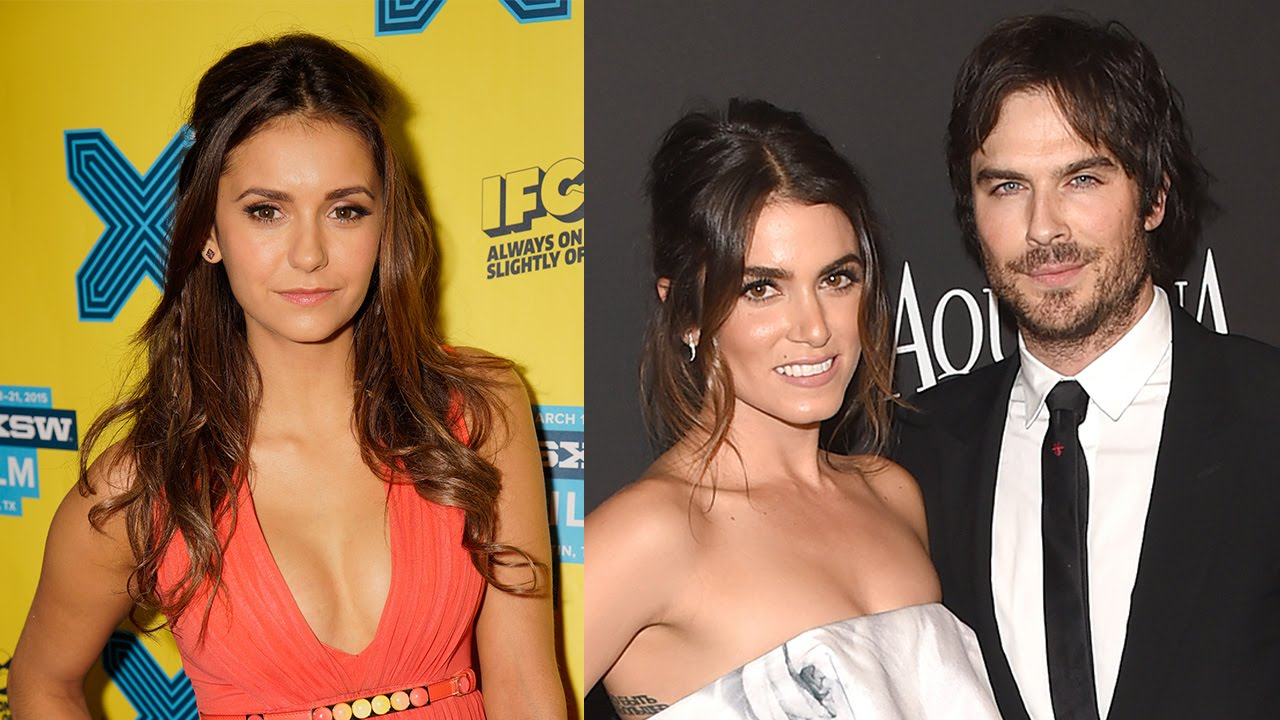 Nina dobrev talks ian somerhalders wedding jealousy rumors nina dobrev talks ian somerhalders wedding jealousy rumors youtube junglespirit Images
