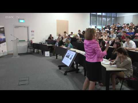 Humanoid - people vs robots, Nadia Thalmann Singapore iMagination Week 2017, ESSEC AP