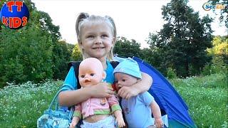 ✔ Baby Born Doll. Пикник с Куклой Бэби Борн / Picnic with a Doll / Oyuncak Bebek. Серия 37 ✔