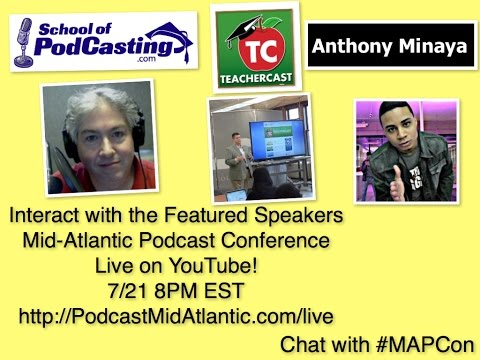 Speakers of Mid-Atlantic Podcast Conference Live Chat!