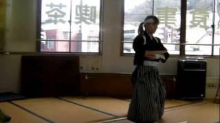 嗚呼!忠烈白虎隊 会津観光の定番 白虎隊の剣舞です。