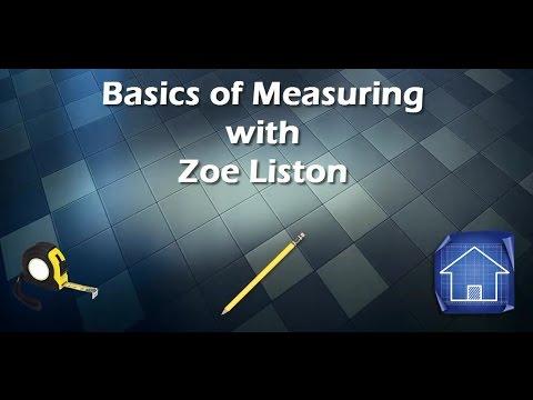 Basics of Measuring