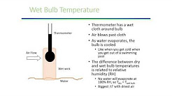 Wet Bulb and Dry Bulb Temperatures Explained