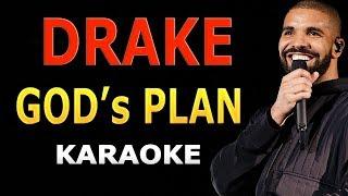 Drake - God's Plan LYRICS Karaoke