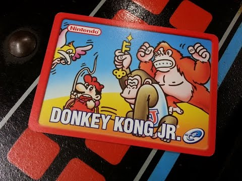 Classic Game Room - DONKEY KONG JR. review for Nintendo e-Reader