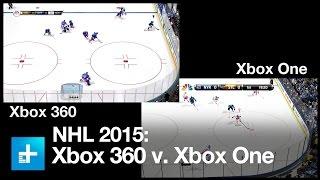 NHL 2015 - Xbox 360 vs Xbox One