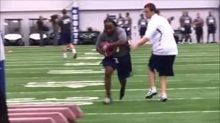 NFLRegionalCombine Rb Tommie Isom 3/29/2014  Indianapolis