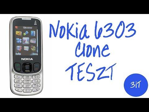 Nokia 6303 Classic Clone Teszt 3iT HD