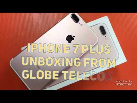IPhone 7 Plus Unboxing From Globe Telecom With UNLI DATA CORPO SIM! | Rosegold | Philippines 2019