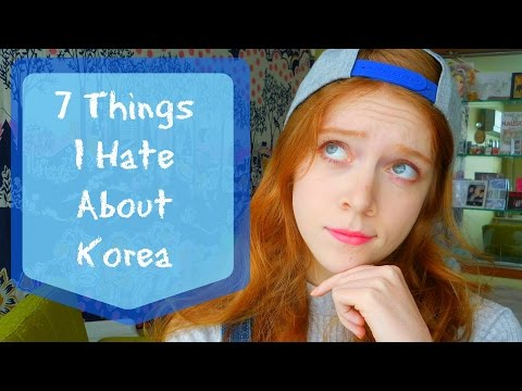 7 Things I HATE about Living In Korea || Teaching In Korea || Madi Miso