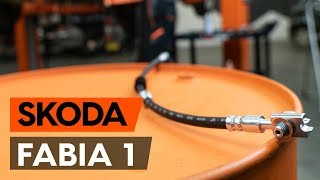 Jak vyměnit brzdove hadice na SKODA FABIA 1 (6Y5) [NÁVOD AUTODOC]