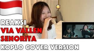 Download lagu Reaksi Via Vallen - Senorita Koplo Cover Version (Shawn Mendes feat Camila Cabello) Korean reaction