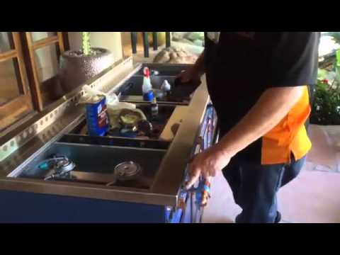 How to refinish discolored or scratched stainless steel How to take scratches out of stainless steel appliances