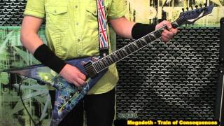 Megadeth - Train Of Consequences - Guitar Cover HD