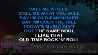 old time rock and roll bob seger lyrics karaoke goodkaraokesongs com