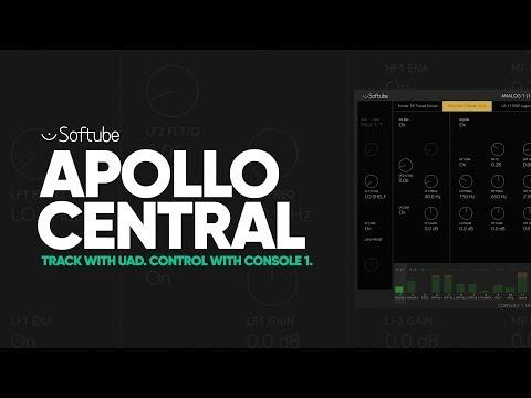 Softube Launches Apollo Central for Controlling UA's Apollo