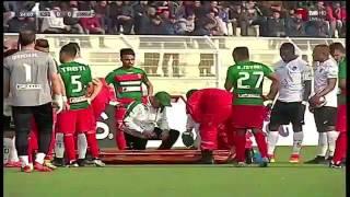 فيديو: شجار بين لاعبي وفاق سطيف واتحاد بلعباس انتهى بطرد لاعب من كل فريق