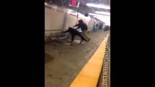 Man Beats Up Cop For No Reason