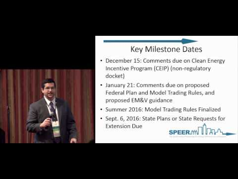 CATEE 2015 - Clean Power Plan Overview