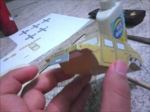 Papercraft Hummer maquete em papel / Hummer paper model