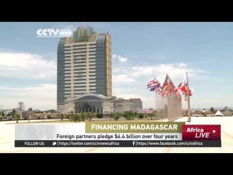 Madagascar's foreign partners pledge $6.4 billion over 4 years