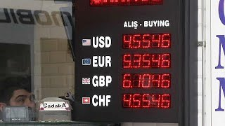 إردوغان يدعو الأتراك إلى تحويل أموالهم بالدولار واليورو إلى الليرة …
