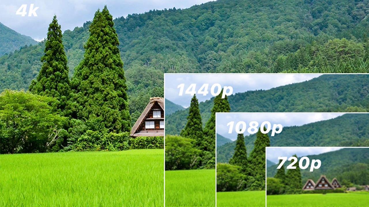 720p vs 1080p vs 1440p vs 4K vs 8K – Which Should You Choose?