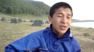 Той зимой недалекой я увидел тебя-песня Муцураева.(Башкирия. Турслет.База отдыха