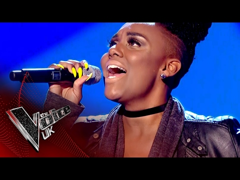 Stacey Skeete performs 'Shackles': Blind Auditions 6  The Voice UK 2017