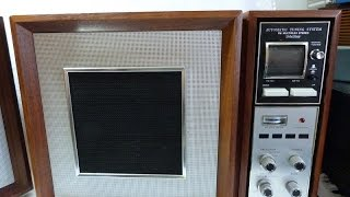Panasonic model RE-787 Auto Tuning stereo (1967, Japan)