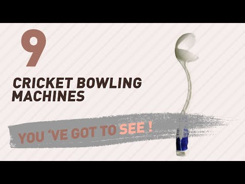 Cricket Bowling Machines, Best Sellers 2017 // Cricket Gear At Amazon India