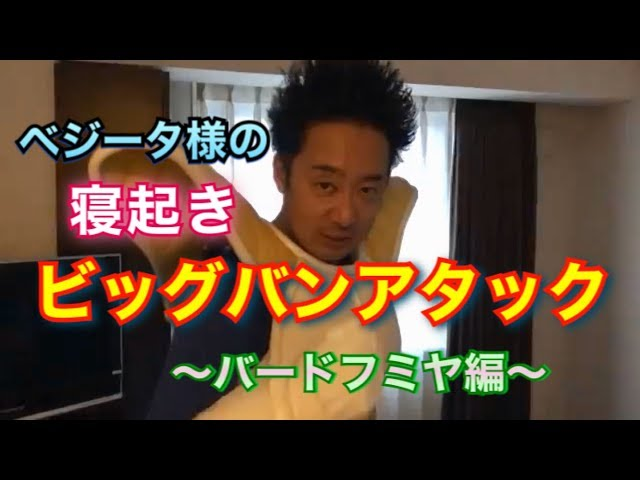 【R藤本】ベジータ様の寝起きビッグバンアタック ~バードフミヤ編~