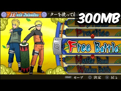 All Jutsu.. Naruto Shippuden Ultimate Accel3 PPSSPP High Compressed