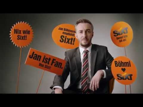 Sixt Werbung mit Jan Böhmermann