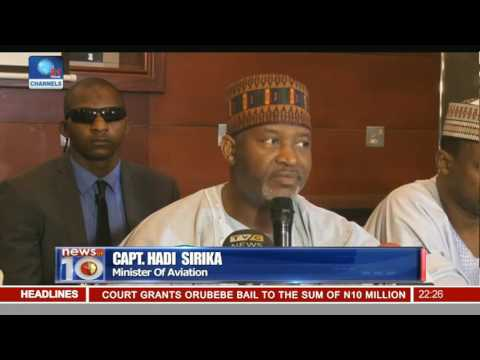 News@10: Council Of State Confirms Ibrahim Idris As IGP 07/09/16 Pt. 2