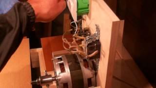 Как подключить двигатель от стиральной машины.(В ролике показан процесс самостоятельного подключения двигателя от стиральной машины к сети 220 В И ИСПОЛЬЗ..., 2016-03-17T19:07:56.000Z)