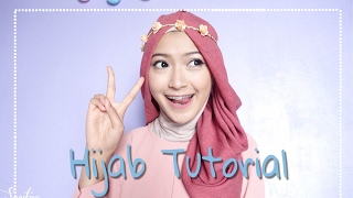 SIMPLE HIJAB TUTORIAL 7style 1scarf | saritiw