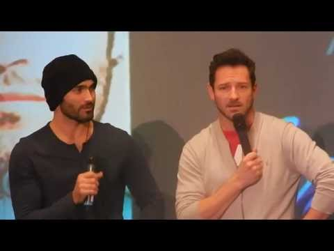 Tyler Hoechlin's impression of Stiles (Nemeton Ita Con) - YouTube