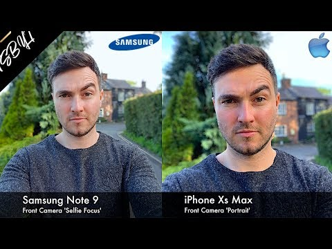 iPhone Xs Max vs Samsung Galaxy Note 9 | Camera Test Comparison Review!