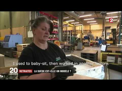 Vibratec Akustikprodukter AB on French TV