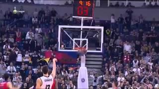 Bogdan Bogdanovic 27 points vs CSKA Moscow (17.01.2014)