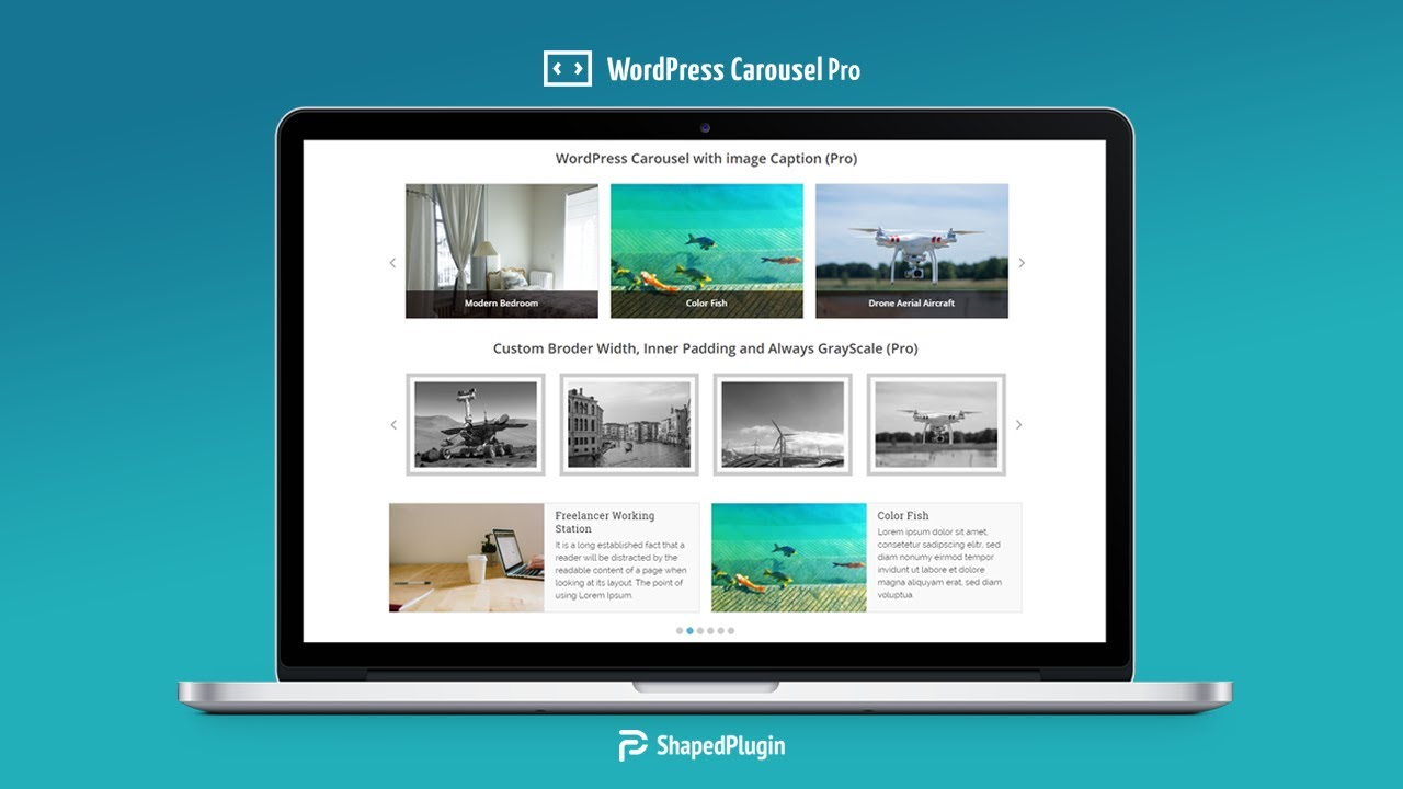 WordPress Carousel – Responsive Image Slider for WordPress