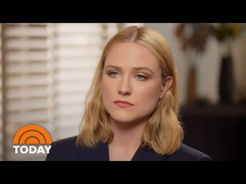 Evan Rachel Wood Talks About Her Fight For Domestic Abuse Victims | TODAY